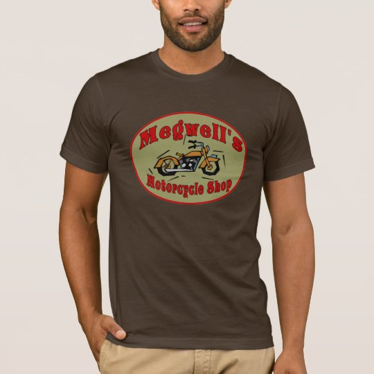 Megwell's Motorcycle Shop T-Shirt