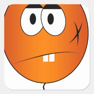 meh 4 square sticker