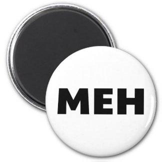 Meh 6 Cm Round Magnet