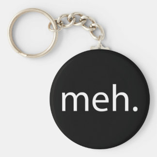 meh basic round button key ring