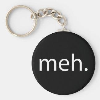 meh basic round button key ring