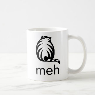 meh Cat Coffee Mug