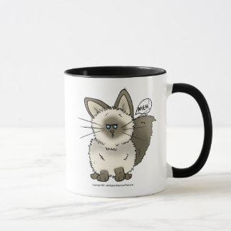 Meh Cat Mug_ Beer/Stien_ Travel mug