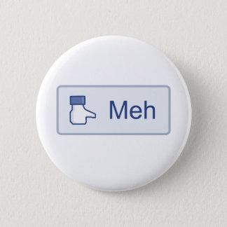 Meh - Facebook 6 Cm Round Badge