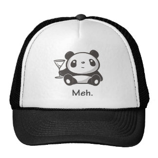 Meh Panda Cap