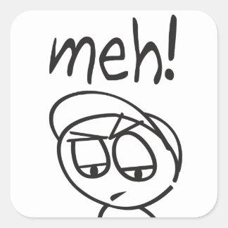 Meh! Square Sticker