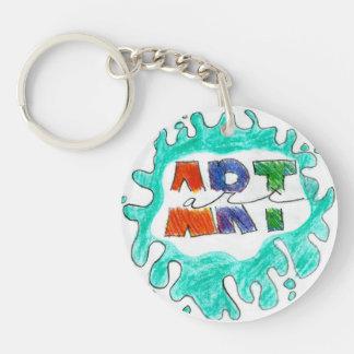 Mehana Single-Sided Round Acrylic Key Ring