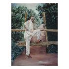 Meher Baba in Nature Poster