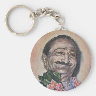Meher Baba keychain
