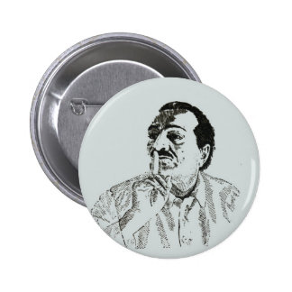 Meher Baba Silence  Pinback Button