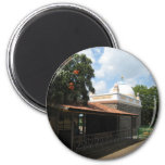 Meher Baba's Tomb 6 Cm Round Magnet