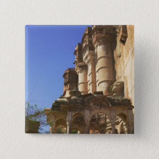 Meherangarh, the Majestic Fort, Jodhpur, 15 Cm Square Badge