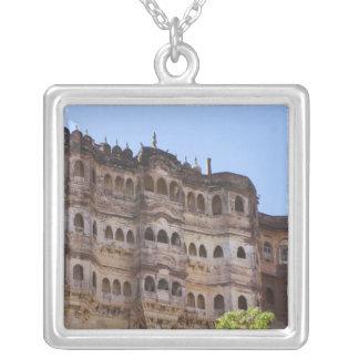 Meherangarh, the Majestic Fort, Jodhpur, Silver Plated Necklace