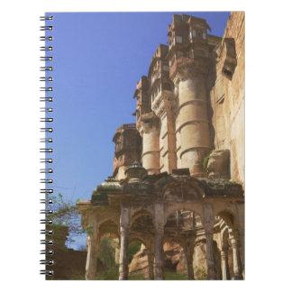 Meherangarh, the Majestic Fort, Jodhpur, Spiral Notebook