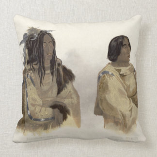 Mehkskeme-Sukahs, Blackfoot Chief and Tatsicki-Sto Pillows