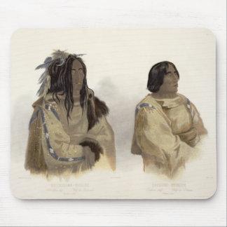 Mehkskeme-Sukahs, Blackfoot Chief and Tatsicki-Sto Mouse Pad