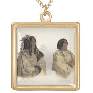 Mehkskeme-Sukahs, Blackfoot Chief and Tatsicki-Sto Pendant
