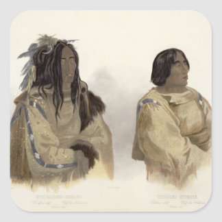 Mehkskeme-Sukahs, Blackfoot Chief and Tatsicki-Sto Stickers