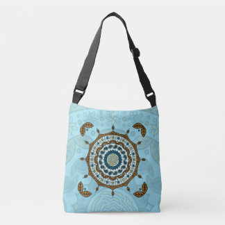 Mehndi Fantasy Copper All-Over-Print Bag