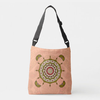 Mehndi Fantasy Gold All-Over-Print Bag