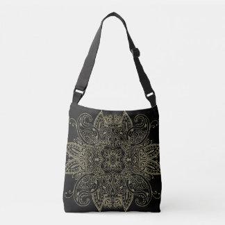 Mehndi Gold Crossbody Bag