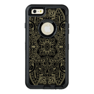 Mehndi Gold OtterBox Defender iPhone Case
