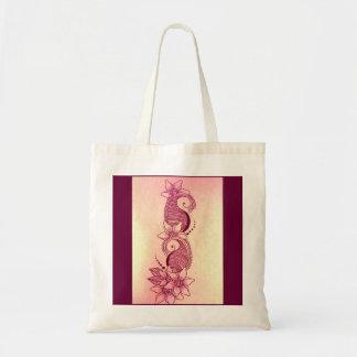 mehndi henna pink Bag