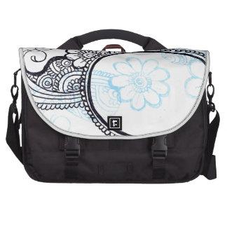 mehndi laptop messenger bag