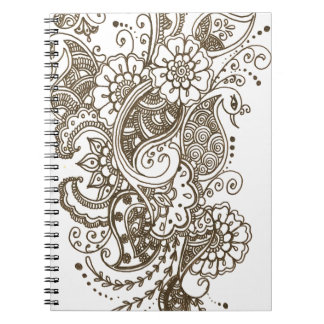 Mehndi Notebook