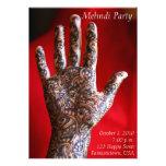 Mehndi Party Invitation