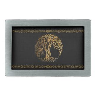 Mehndi Tree of Life (Gold) Belt Buckles