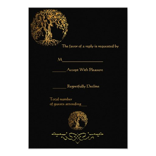 Mehndi Tree of Life (Gold) Announcement
