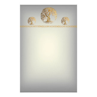Mehndi Tree of Life (Henna) Stationery