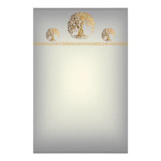 Mehndi Tree of Life Henna Customized Stationery