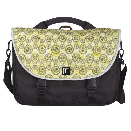 Mehndi Yellow Commuter Bags