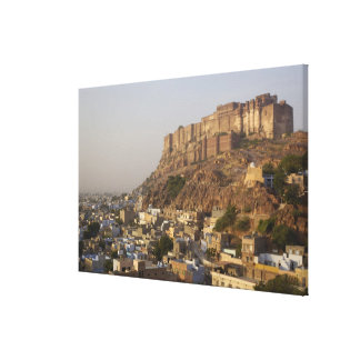 Mehrangarh Fort of Jodhpur. Rajasthan, INDIA. Canvas Print