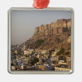 Mehrangarh Fort of Jodhpur. Rajasthan, INDIA. Christmas Ornament