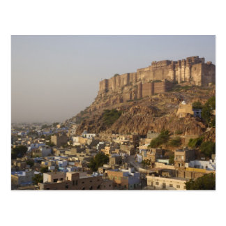 Mehrangarh Fort of Jodhpur. Rajasthan, INDIA. Postcard
