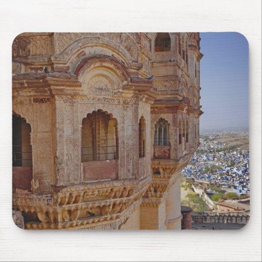 Mehrangarh Fort towering above Jodhpur, The Blue Mouse Pad