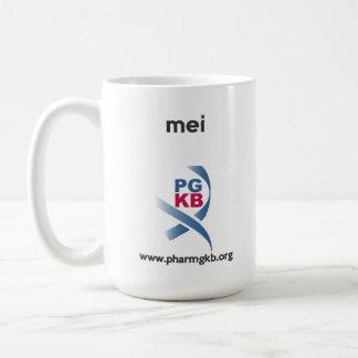 mei basic white mug