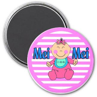 Mei Mei 7.5 Cm Round Magnet