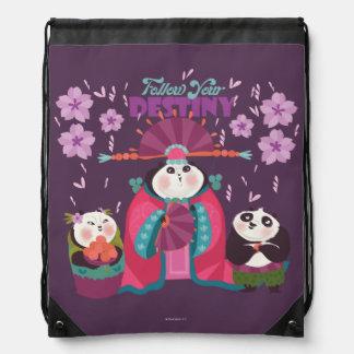 Mei Mei - Follow Your Destiny Drawstring Bag