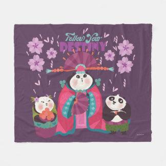 Mei Mei - Follow Your Destiny Fleece Blanket