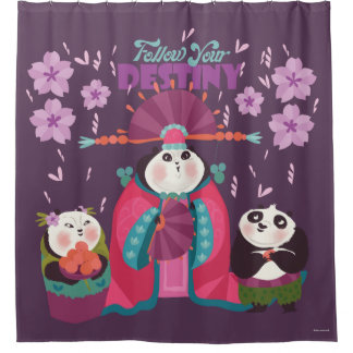 Mei Mei - Follow Your Destiny Shower Curtain