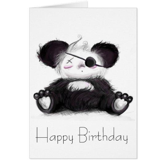 Mei Mei Panda Pirate Card