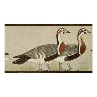 Meidum geese, from the Tomb of Nefermaat and Poster