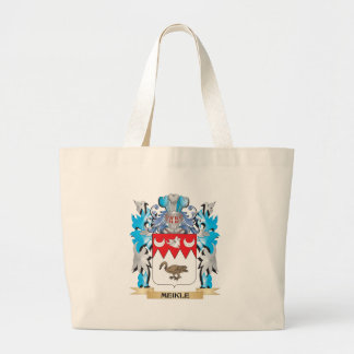 Meikle Coat of Arms - Family Crest Large Tote Bag