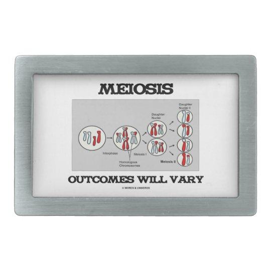 Meiosis Outcomes Will Vary (Meiosis Humour) Rectangular Belt