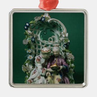 Meissen arbour group, after a painting by Boucher Christmas Ornament