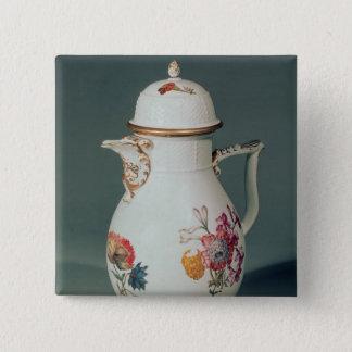 Meissen coffee pot, c.1740-50 15 cm square badge